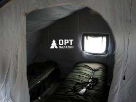2 слойная палатка внутри