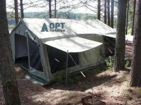 Брезентовые палатки