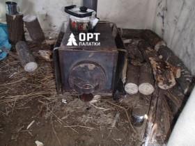Обогрев палаток: печь и тепловая пушка