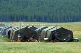 Палаточный лагерь археологов - загадки крепости Пор-Бажын