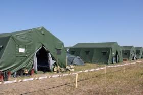 Выбираем армейскую палатку на 20 человек