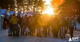 Зимние палатки на форуме «Арктика-2016»