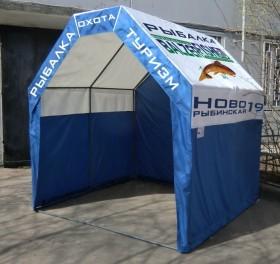 Яркие торговые палатки для ярмарочных гуляний на светлый праздник пасхи