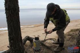 Идеальная палатка для рыбака в виде чума