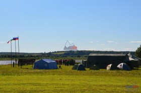 Подростки в армейской палатке: летние военно-полевые сборы в республике Коми