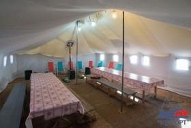 Палаточный лагерь на Баренцевом море