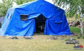 «Памир-30» — палатка для детского военно-полевого лагеря «Беркут»