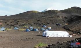 Каркасная палатка серии «Памир» в краю вулканов