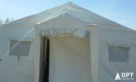 Каркасные палатки на «Гонке героев» в Сертолово