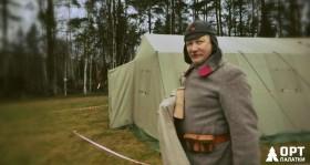 Брезентовая палатка М-30 в Тайпале