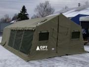 Штабная армейская палатка из брезента