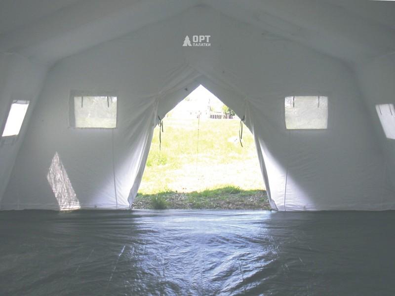 большая палатка для кемпинга Памир-30 - вид внутри